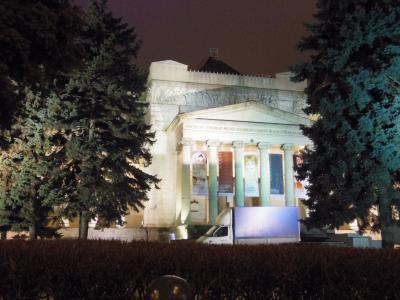 12月のモスクワ&サンクトペテルブルク   1日目:モスクワ到着後、地下鉄に乗ってプーシキン美術館へ