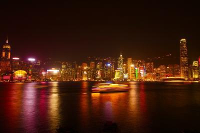 初の香港「インターコンチネンタル香港」