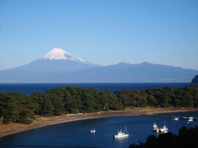 夫婦で西伊豆・戸田温泉でのんびり 2日間富士山見えまくりの旅(^_^)v