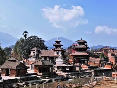 のんびりネパール 1人旅 2. ヒマラヤがちょっとだけ見えたドゥリケル&川沿いの小さな町パナウティ