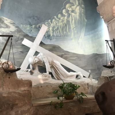 ヴィアドロローサ 『イスラエル北部のガリラヤ湖も訪問/~オリエント世界への誘い~ペトラ遺跡・死海・イスラエル周遊8日間』