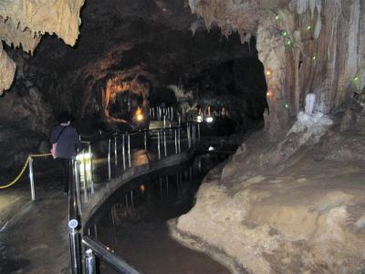 八重山4島めぐり4日間(まずは日本最南端の石垣鍾乳洞)