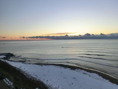 海の別邸は素晴らしい眺望でした。白老の絶景宿でリフレッシュ