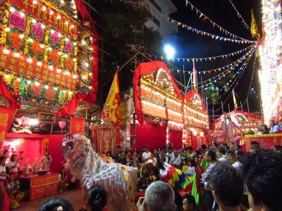 香港★10年に一度のお祭り!沙田大圍村侯王宮太平清醮 後半