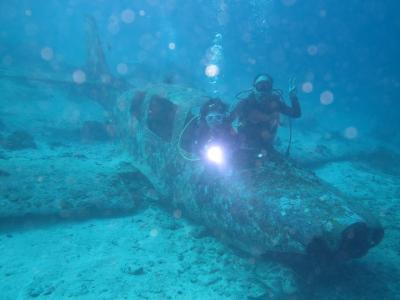セブ島 モアルボアル 妻と二人のダイビング旅行!