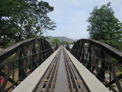 タイ・カンチャナブリ、クウェー川鐵道