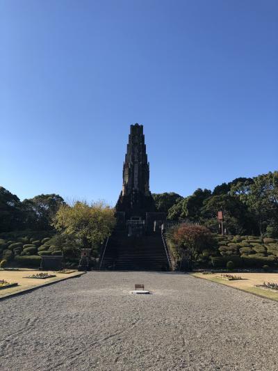 宮崎満喫その②平和台公園と宮崎神宮とグルメ