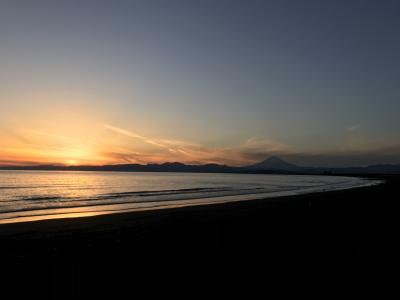 12月藤沢鵠沼海岸あたりで海と飲み食べ歩き備忘録