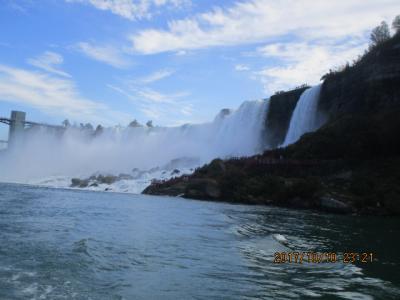 世界三大名瀑「ナイアガラの滝」・・南米イグアスの滝に続き2つ目制覇^^