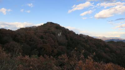 栃木県足利市にて。大小山ハイキングコースに行ってみた