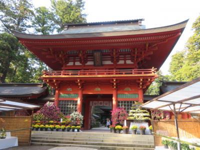 香取神宮参拝・散策と白子温泉・白子ニューシーサイドホテル宿泊