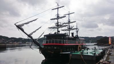 伊豆 異国情緒の下田、初めての川床料理 (5-1) 海鮮朝食と黒船遊覧船