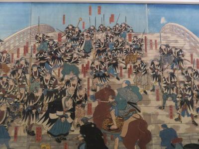 北斎展の後、東京国立博物館で「忠臣蔵」