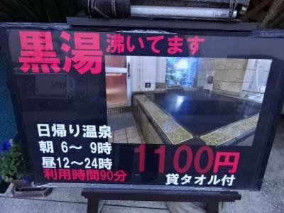 初めての東京蒲田黒湯温泉、ホテル末広、猫スタッフ5名のおもてなし、付録品川宿を歩く