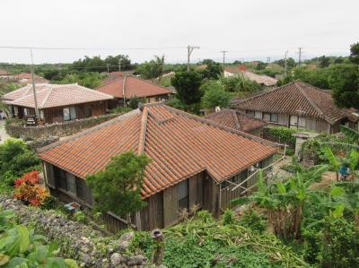 八重山4島めぐり4日間(④赤瓦屋根の古民家集落が残る竹富島散策)