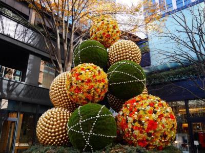 2017年冬!:Marunouchi Bright Christmas 2017 -Blooming Anniversary~花で彩る クリスマス~&RIGOLETTO WINE AND BAR IN新丸ビルでランチ(1人で)