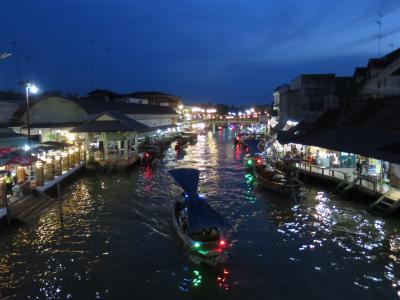 タイ・ダムヌーンサドゥアク水上市場、アンパワー水上市場