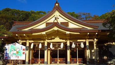 神戸ルミナリエ鑑賞の旅(09) 朝の湊川神社参拝 上巻。