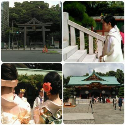 日枝神社お参り