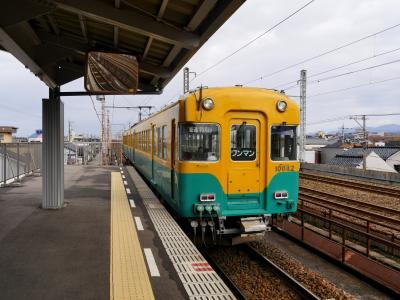2017.11富山魚津旅行2-電鉄富山から電鉄魚津まで地鉄本線に乗る