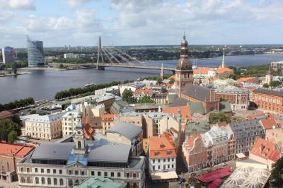 ラトビア旅行記 リガ街歩き すみからすみまで