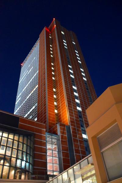 【東京散策69-4】 リニューアルOPENしたキャロットタワーから眺める東京夜景