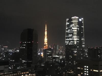 近場でのんびりホテルクラブラウンジステイ~ANAインターコンチネンタルホテル東京~
