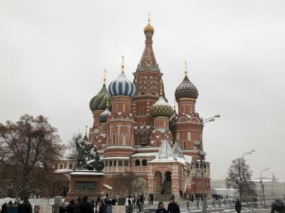 ロシア ツアー旅行 ①モスクワ