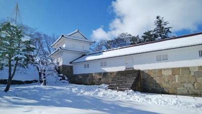 鶴ヶ城と茶室・麟閣拝見