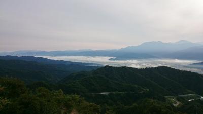 新潟県 南魚沼 美味すぎるへぎそばと白飯 (6-1) 魚沼スカイラインと八海山