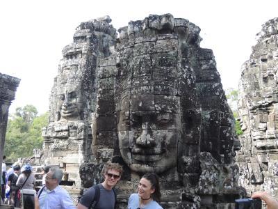 カンボジア2017・・・(1)四面仏の微笑み アンコール・トム