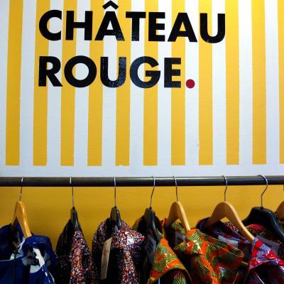 パリのスラムでショッピング!!