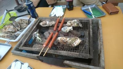 牡蠣小屋探訪 in 糸島市