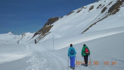 早春のスイス・黒い森・アルザスを巡る 5 4日目 スノーハイキングⅠ~ベルン