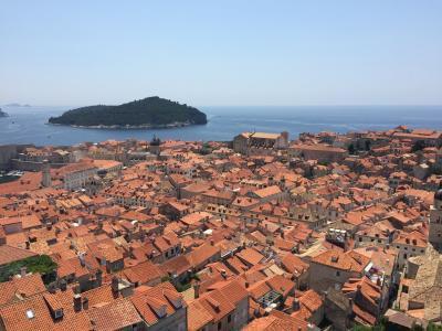 ドブロブニクは観光地として優秀