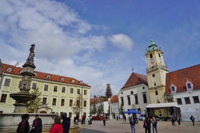 【中欧3ヶ国】4日目:前半 スロバキアのブラチスラバで途中下車観光