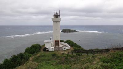 石垣島3月 雨のち曇り 強風の中を駆け足で一周しました。