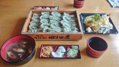 新潟県 南魚沼 美味すぎるへぎそばと白飯 (6-2) 塩沢宿 牧之通りと絶品へぎそば