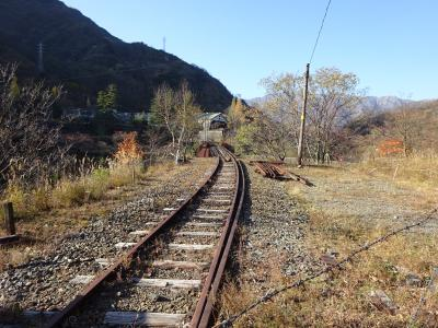 北関東の鉄道に乗りに行く【その4】 足尾銅山の旧鉱山街と、廃線跡を歩く