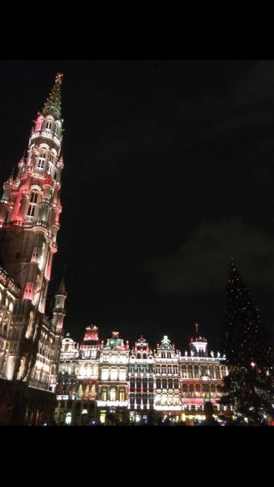 欧州4カ国を巡る旅 3カ国目 ベルギー ブリュッセル