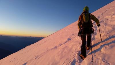 ダンナのモンブラン登山