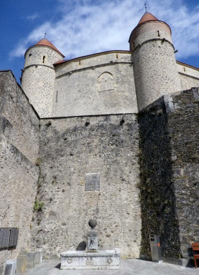 スイスあの城この城16 グランソン城/Château de Grandson