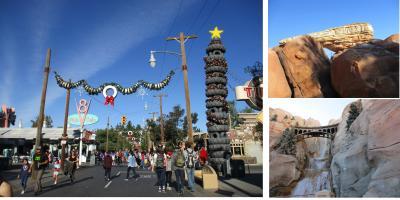 カリフォルニア ディズニーへ 2日目 カーズランドを楽しんだ♪~*