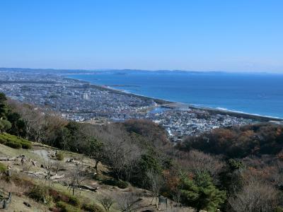 青春18きっぷで、湘南平・高麗山ハイキング