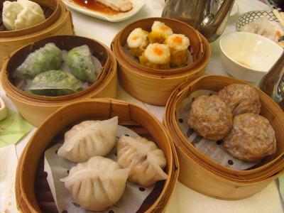 香港★台湾人の友人家族と飲茶ランチ ~翠園Jade Garden・甜入心Heart's Dessert~