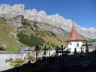 スイス・アルプスの峠めぐり2017 秋のクラウゼンパス