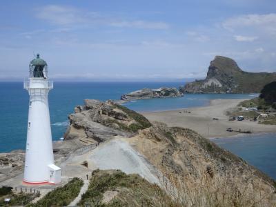 ニュージーランド北島ドライブ(1) マーティンボローとケープパリサーとキャッスルポイント編(2017年11月)