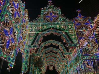 2017ルミナリエ&世界一のクリスマスツリーの前でディズニー新作映画「リメンバーミー」♪