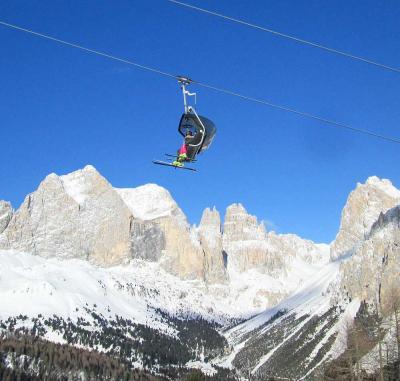 団塊夫婦のスキー&絶景の旅・2017末ー(3)イタリア・ドロミテで四度目のスキー
