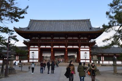 巡るJapan 奈良公園へ孫と
